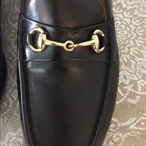 Gorgeous Black Leather Men's Cole Haan Loafer